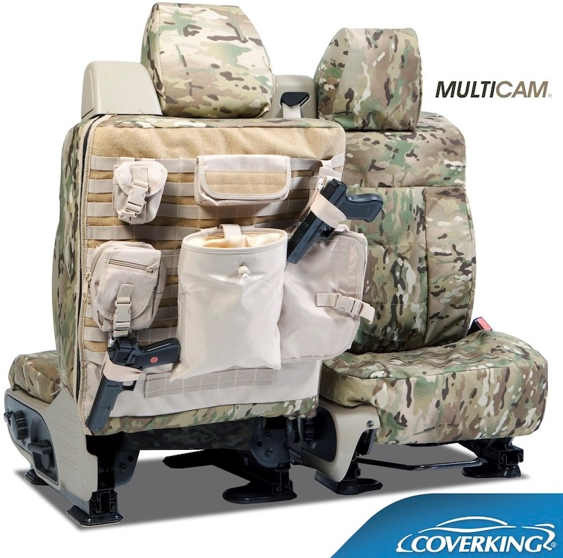 Coverking Ballistic MultiCam Tactical Seat Covers